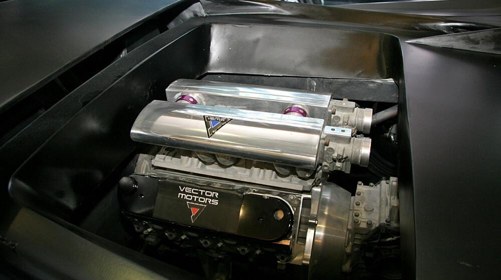 Двигатель Avtech WX8 HPRV
