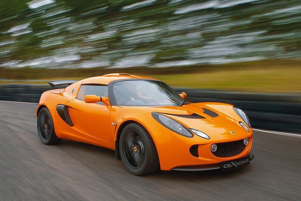 Суперкар Lotus Exige