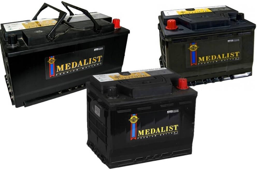 Аккумуляторные батареи Медалист