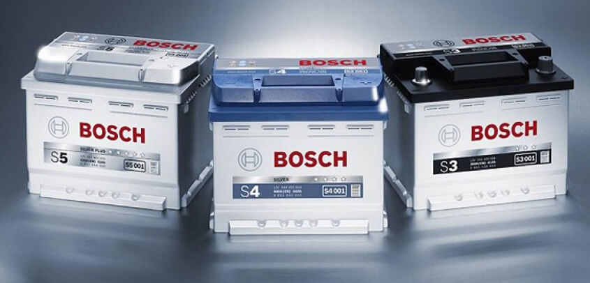 Аккумуляторы Bosch Silver