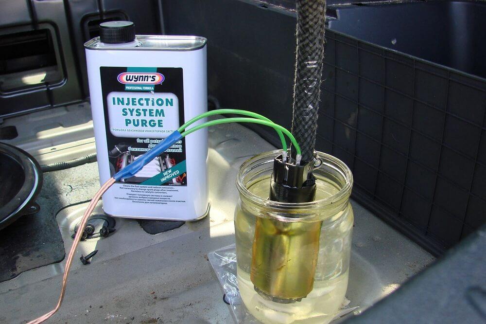 Промыть инжектор своими руками без снятия с автомобиля