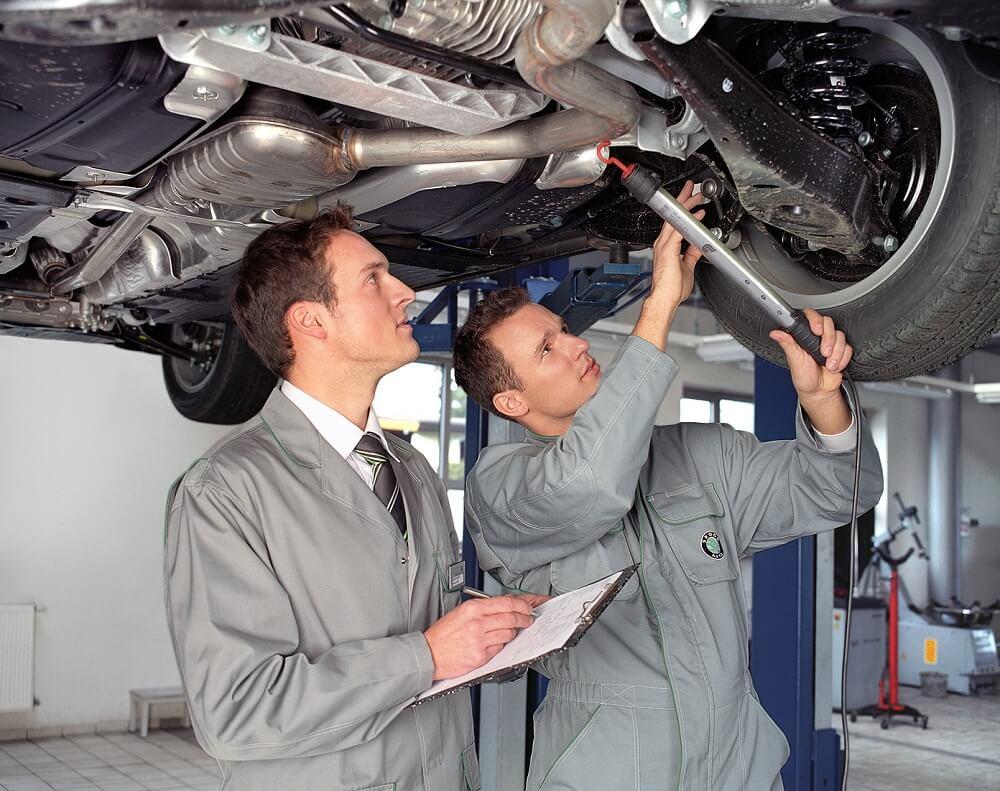 Обслуживание автомобиля СТО