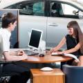 Продажа автомобиля в автосалоне