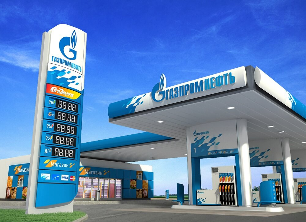 Заправочная станция Газпромнефть