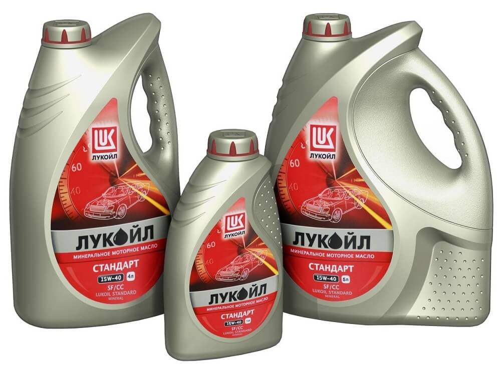 Моторное масло Лукойл