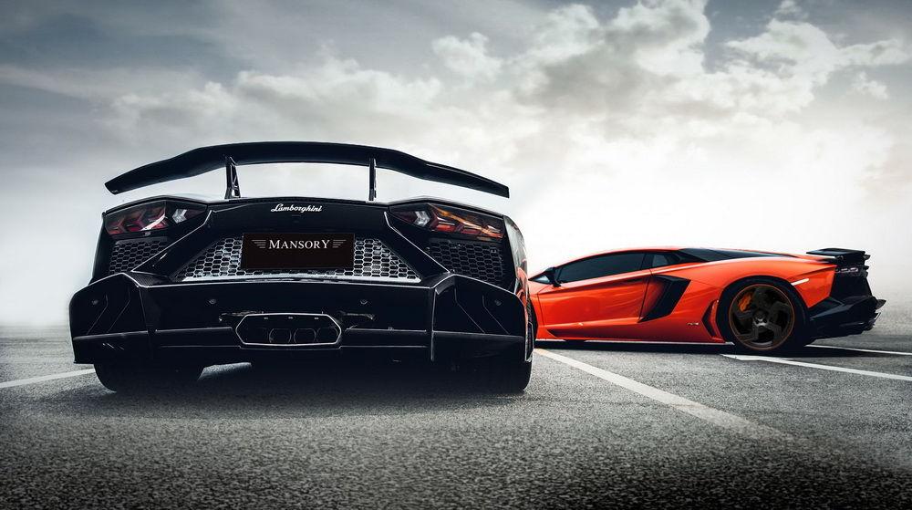 Lamborghini Aventador Mansory Competition