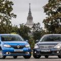 Автомобили Almera и Logan