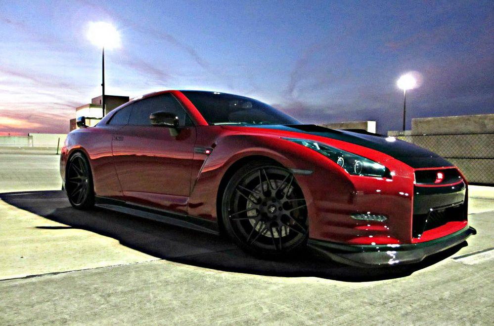 Nissan GT-R Switzer R1K-X Red Katana