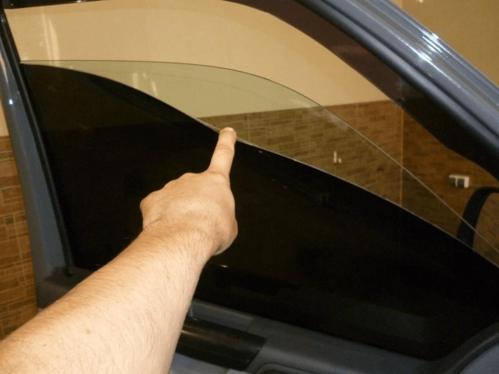 Съёмная тонировка для автомобиля