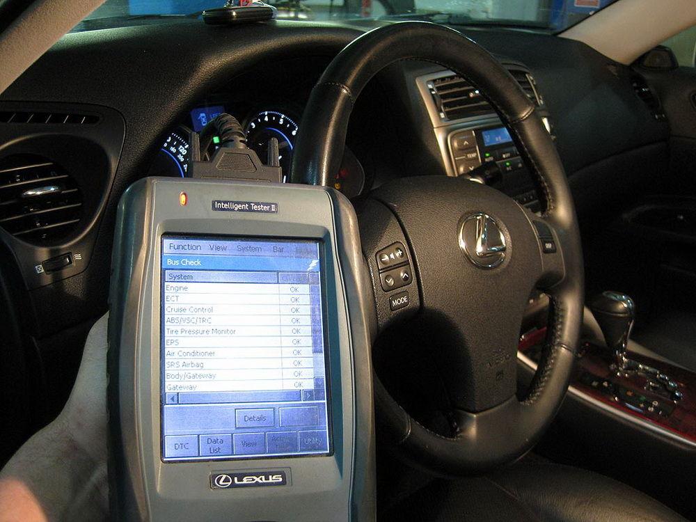 Всеохватывающая диагностика Lexus