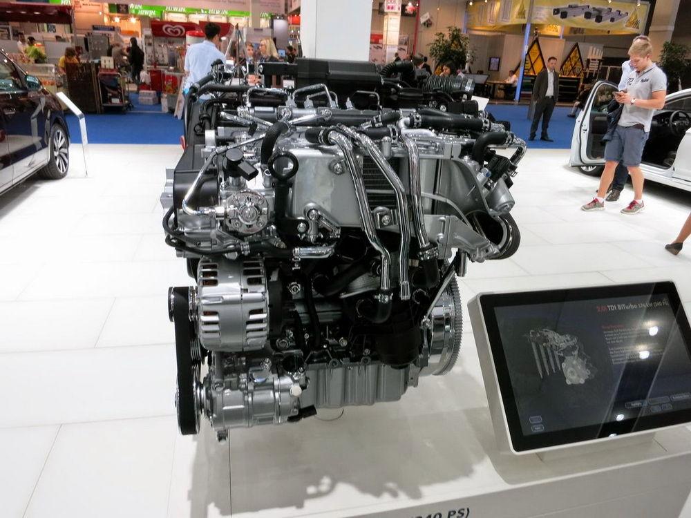 Турбированный дизельный двигатель