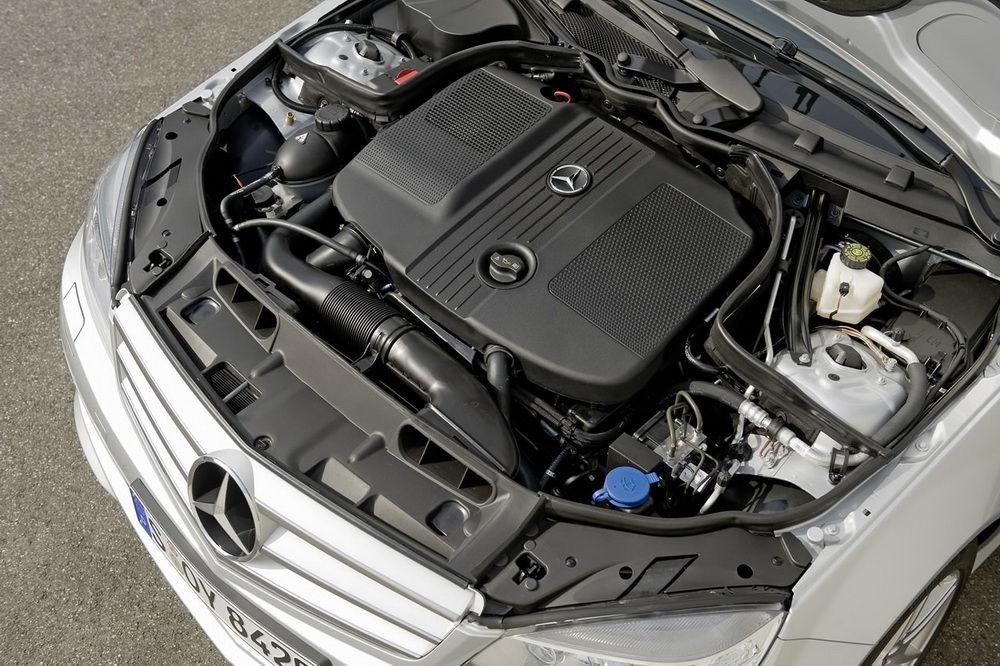 Дизельный двигатель Mercedes