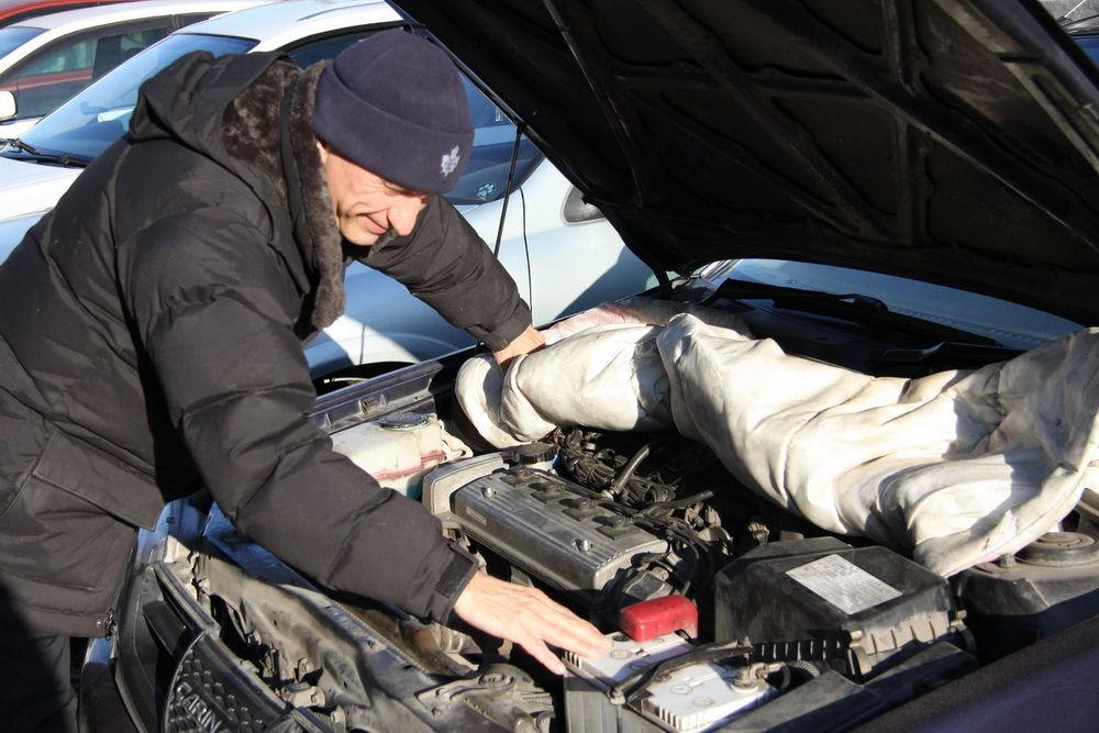 Завести дизельный двигатель