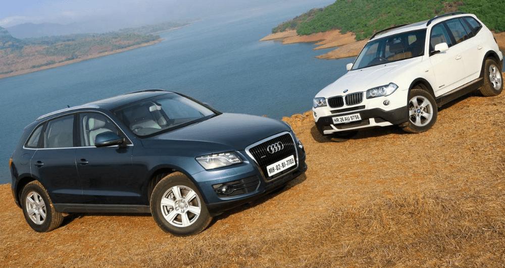 Audi Q5 и BMW X3