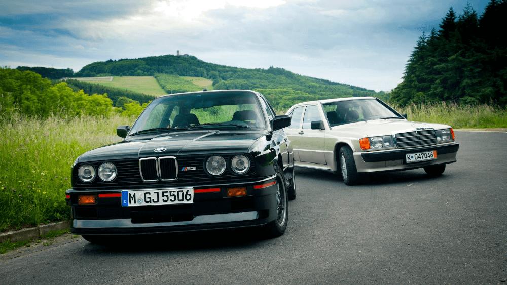 BMW 3 Mercedes 190