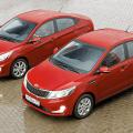 Hyundai Solaris и KIA RIO