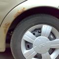 Коррозия на автомобиле
