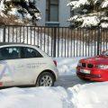 Автомобили А-класса AUDI A1 и BMW 1
