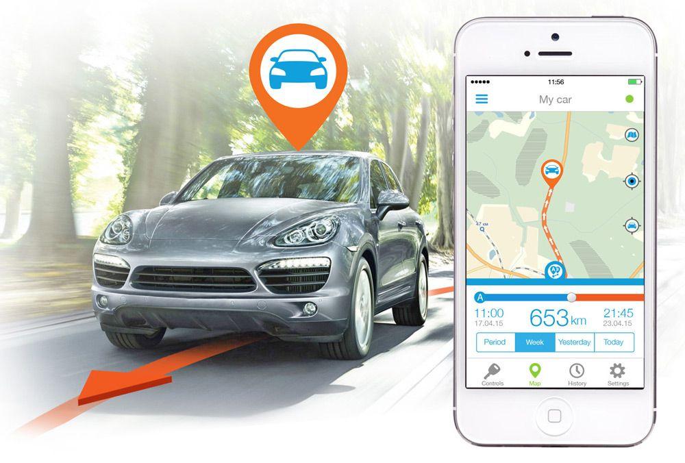 Поиск авто по GPS-системе
