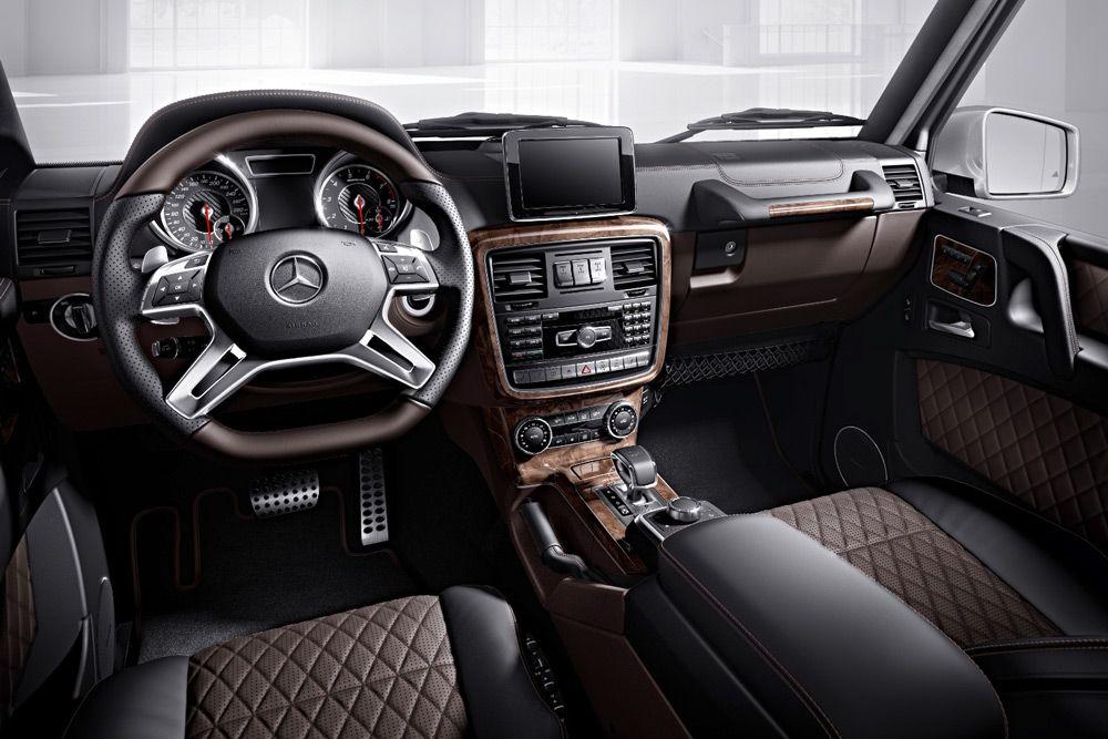 Убранство Mercedes Gelandewagen