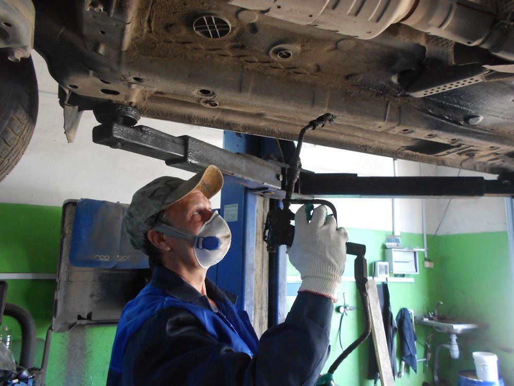 Антикоррозионная обработка кузова автомобиля