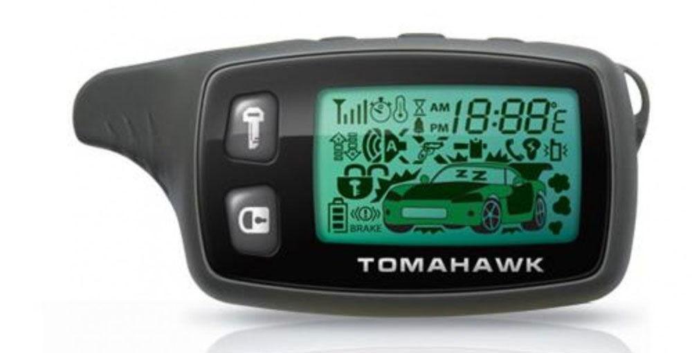 Брелок автосигнализации Tomahawk