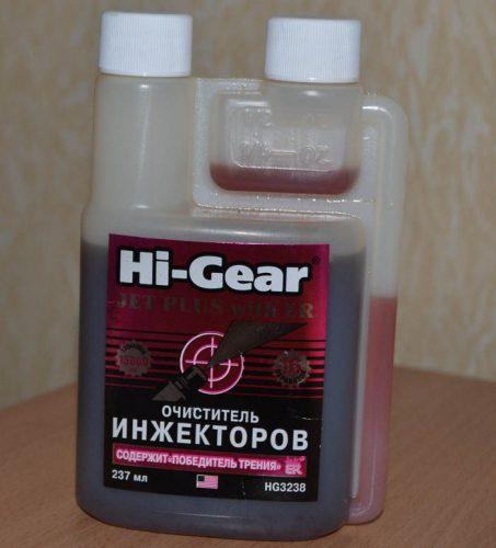 Очиститель инжектора Hi-Gear
