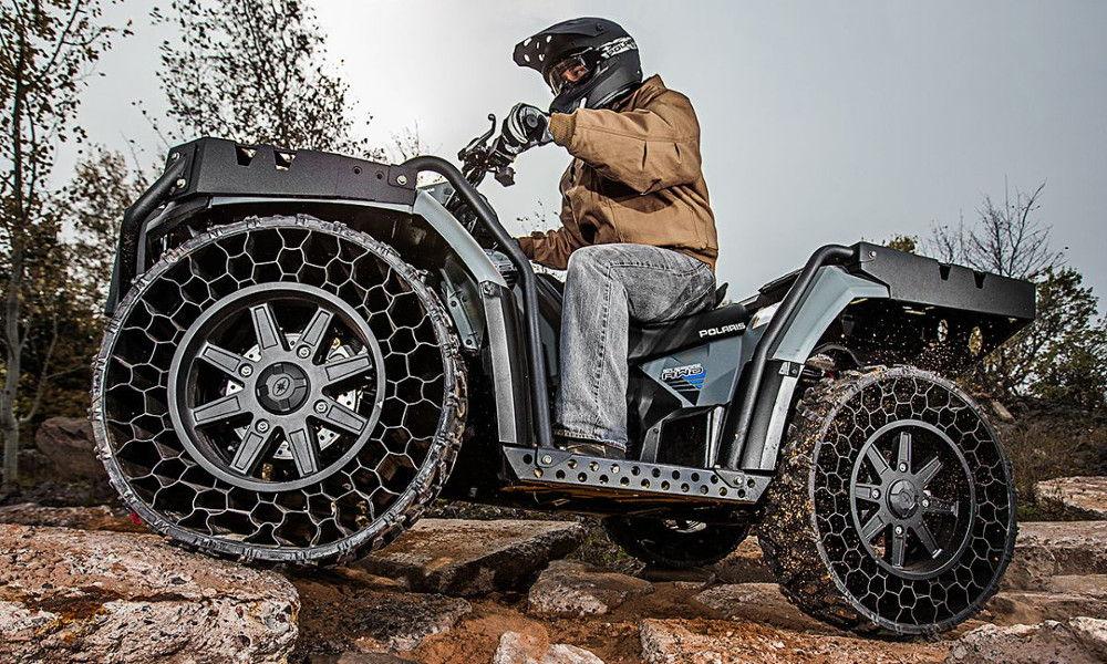 Квадроцикл на бескамерных шинах