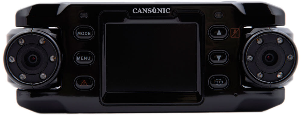 Видеорегистратор с двумя камерами Cansonic FDV-7000