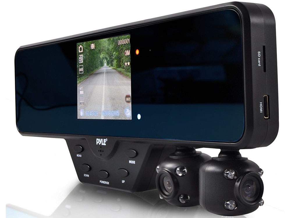Видеорегистратор с двумя камерами Pony Dash Cam