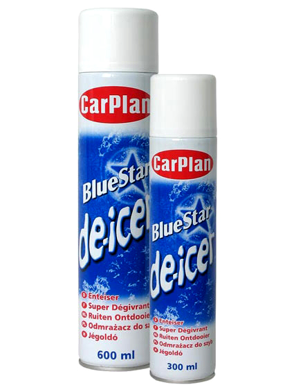 CarPlan Blue Star de-icer