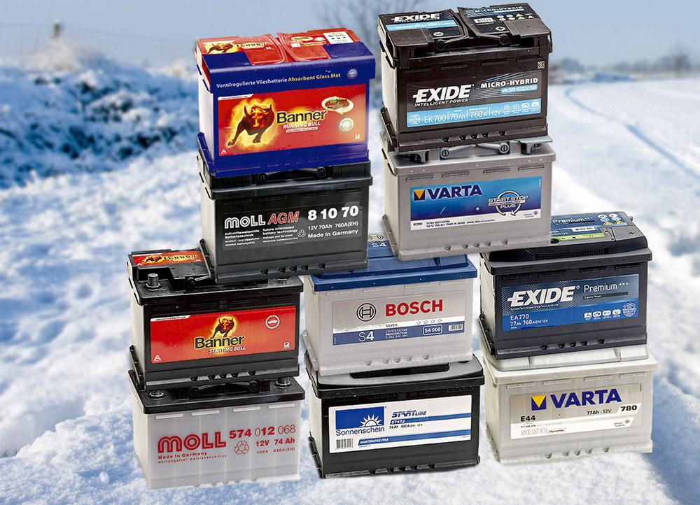 Аккумуляторы для зимы