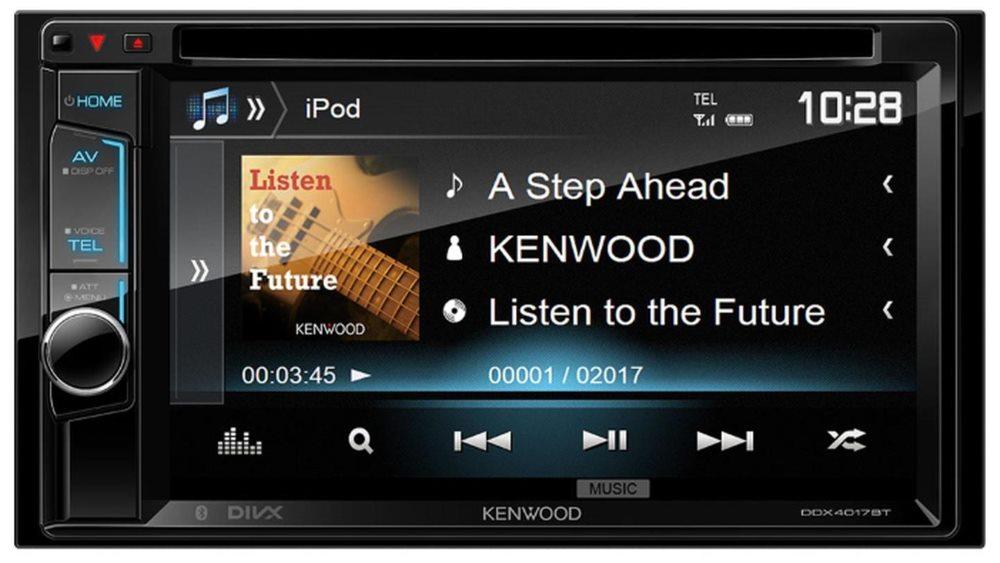 автомагнитола kenwood ddx4017btr