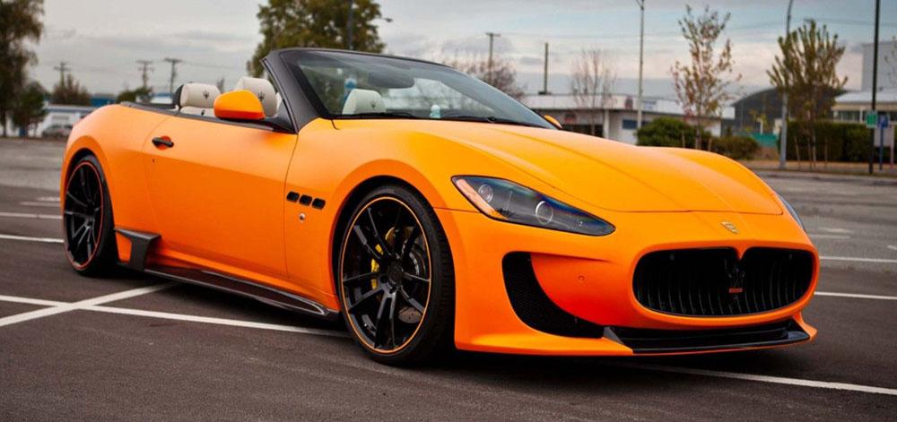 Кабриолет Maserati