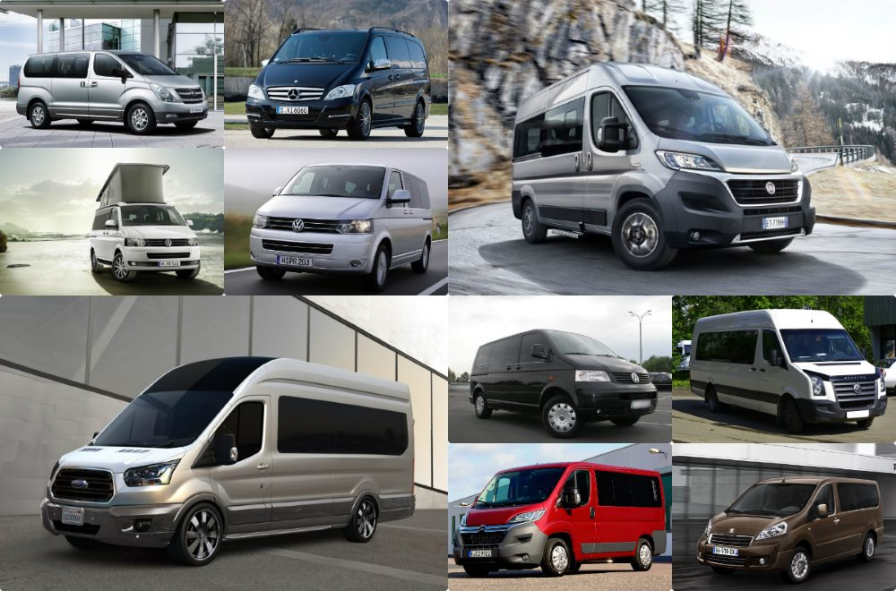 обзор семейных микроавтобусов