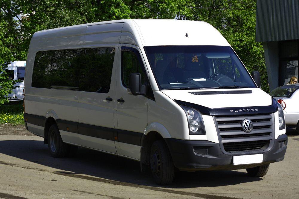 семейный микроавтобус сrafter wolkswagen