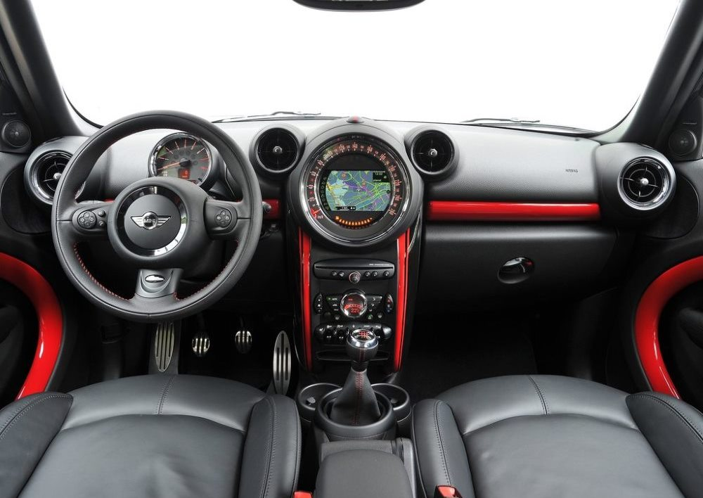 интерьер mini countryman