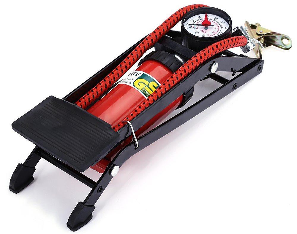 компрессор ножной автомобильный