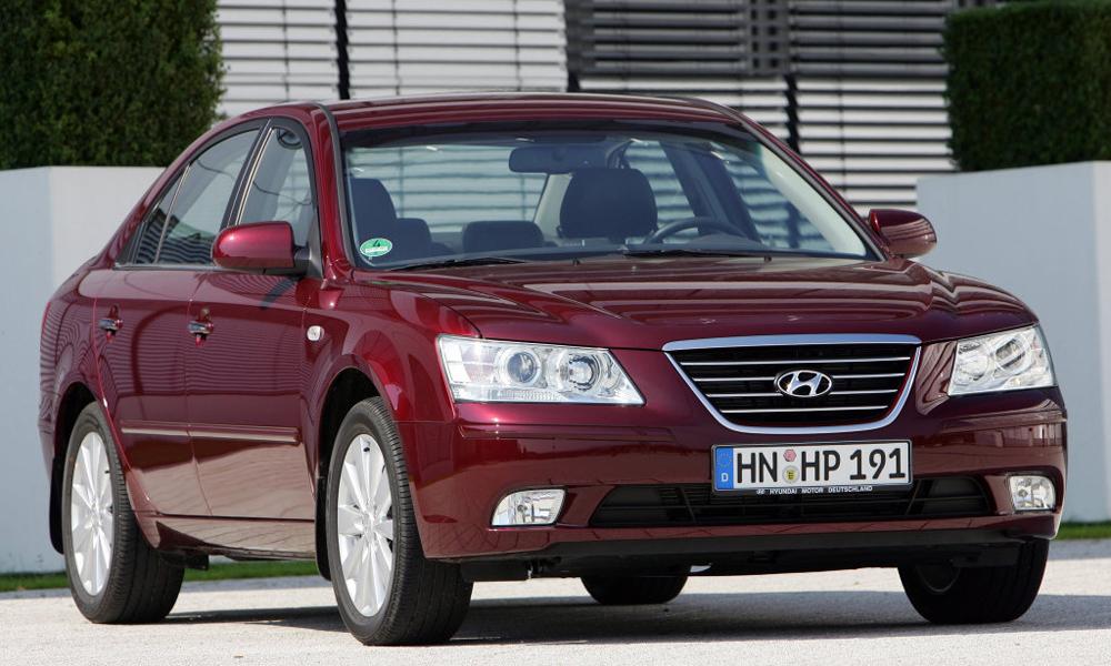 Надежный автомобиль Hyundai Sonata