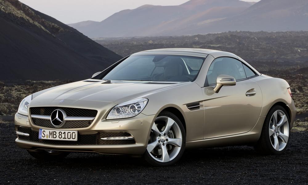 Подержанный автомобиль Mercedes-Benz SLK-Class