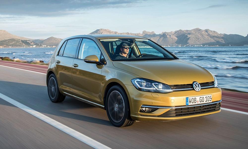 Подержанный автомобиль VW Golf