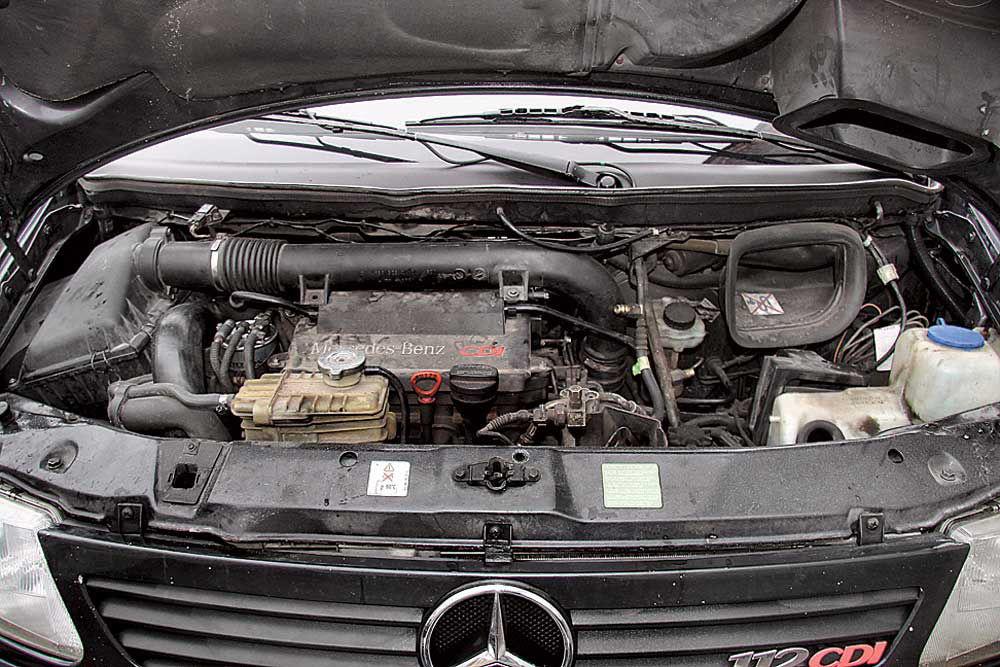 Двигатель Мерседес Вито