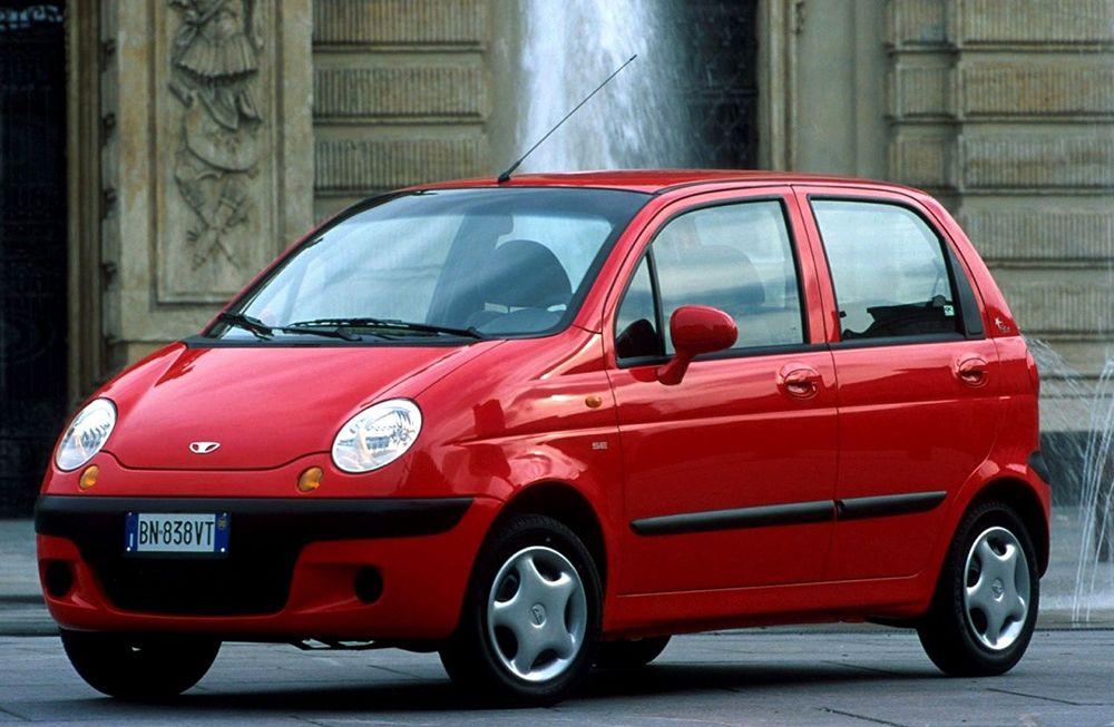 Daewoo Matiz - городской автомобиль