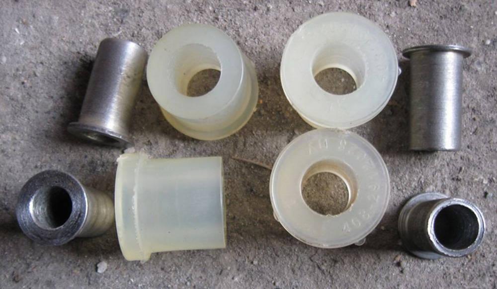 Какие сайлентблоки лучше: резиновые или полиуретановые