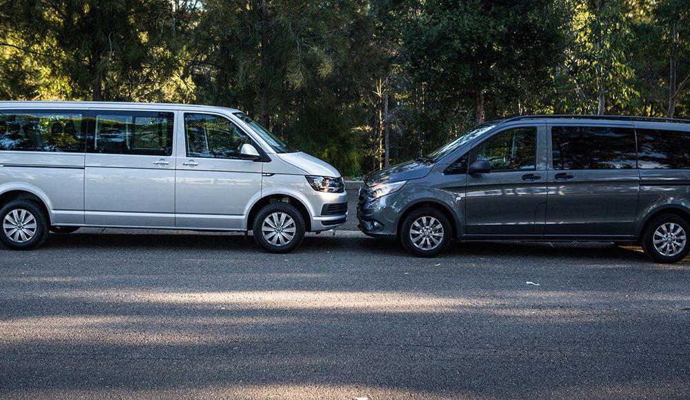 Какой минивэн выбрать: Mercedes-Benz Vito или Volkswagen Transporter T5