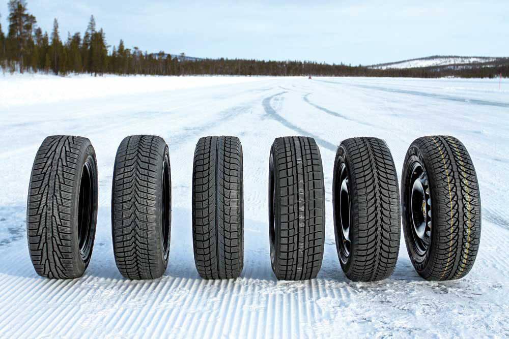 Тестирование зимних шин