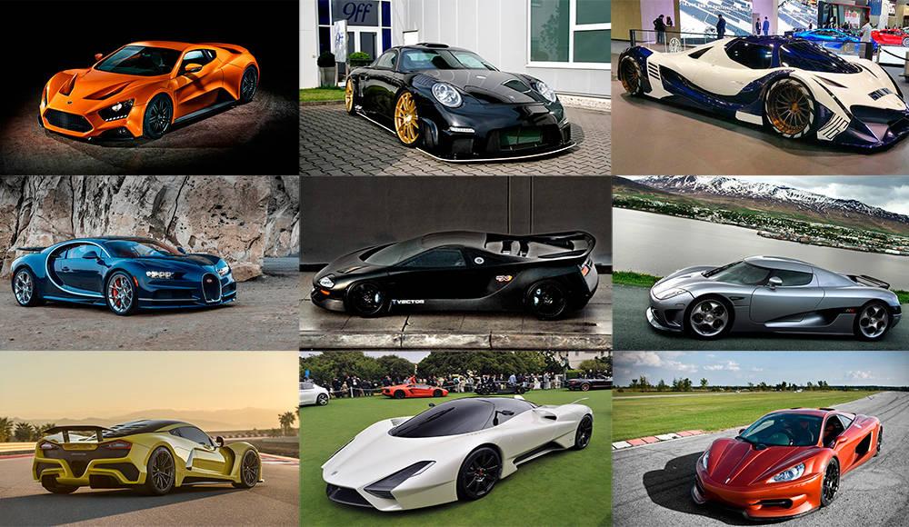 Рейтинг самых мощных автомобилей в мире