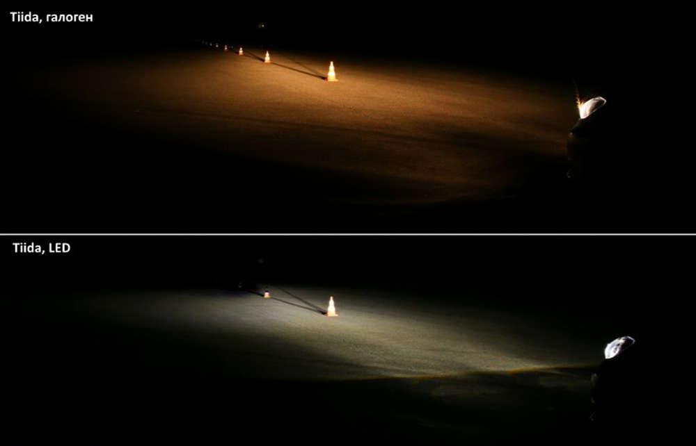Сравнение галогеновых и светодиодных фар