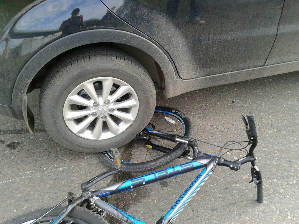 аварии с велосипедистами