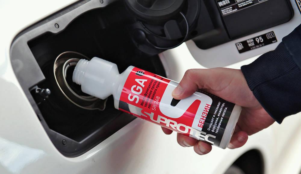 Как выбрать присадки в бензин